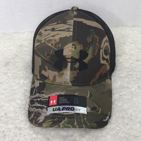 low priced e5424 997d4 Under Armour Hat Camo mesh back Hunt